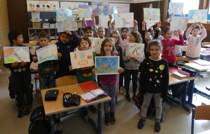 foto seconda-c-scuola-sanzio-trento - Progetto Ponte Educativo Mediterraneo Venezia Pesce di Pace