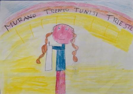 011 disegno-murano-scuola-cerutti-progetto-ponte-educativo-mediterraneo-venezia-pesce-di-pace classe quarta