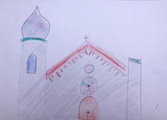 011 foto disegno 4^A elem collegio arcivescovile trento scuola 2019 pesce di pace