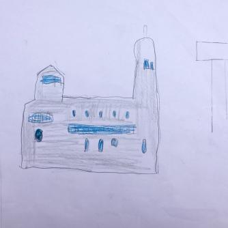 017 foto disegno 4^A elem collegio arcivescovile trento scuola 2019 pesce di pace