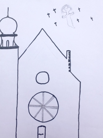 018 foto disegno 4^A elem collegio arcivescovile trento scuola 2019 pesce di pace