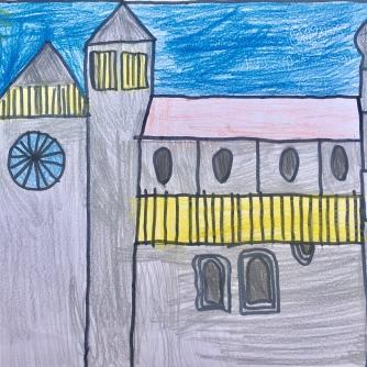 02 foto disegno 4^A elem collegio arcivescovile trento scuola 2019 pesce di pace