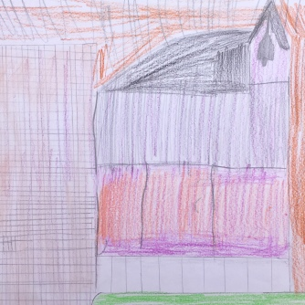 023 foto disegno 4^A elem collegio arcivescovile trento scuola 2019 pesce di pace