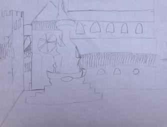 025 foto disegno 4^A elem collegio arcivescovile trento scuola 2019 pesce di pace