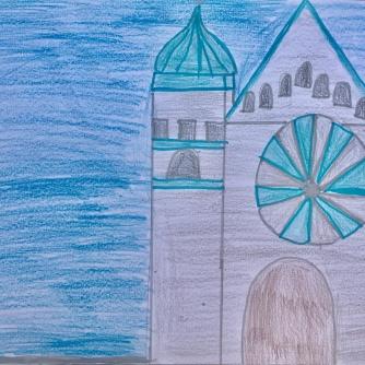 05 foto disegno 4^A elem collegio arcivescovile trento scuola 2019 pesce di pace