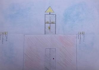 06 foto disegno 4^A elem collegio arcivescovile trento scuola 2019 pesce di pace