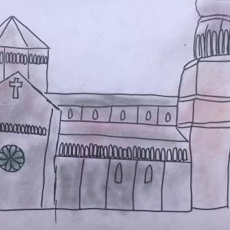 07 foto disegno 4^A elem collegio arcivescovile trento scuola 2019 pesce di pace