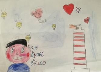 09 disegno-murano-scuola-cerutti-progetto-ponte-educativo-mediterraneo-venezia-pesce-di-pace classe quarta