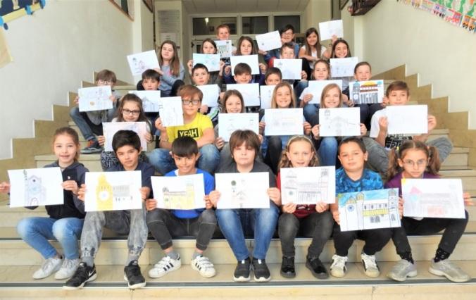 4^A elem collegio arcivescovile trento scuola 2019 pesce di pace.JPG