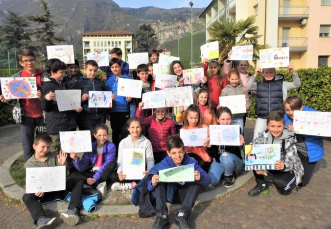 5^A elem collegio arcivescovile trento scuola 2019 pesce di pace .jpg
