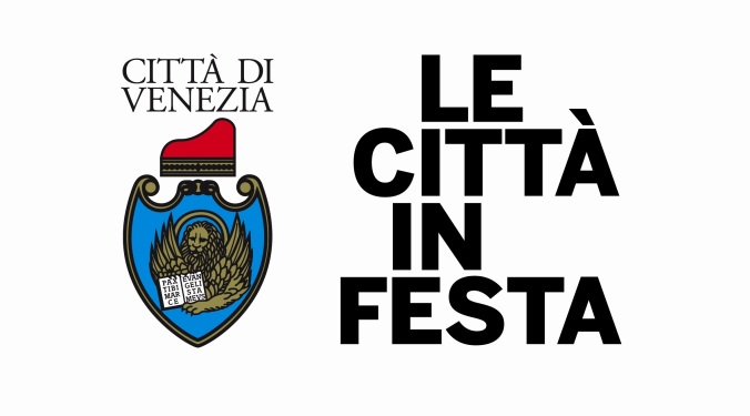 logo città in festa comune di venezia - progetto ponte educativo mediterraneo - pesce di pace.JPG