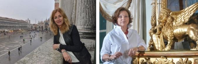 mariacristina gribaudi e gabriella belli in Venezia Pesce di Pace progetto 2019 ponte educativo mediterraneo