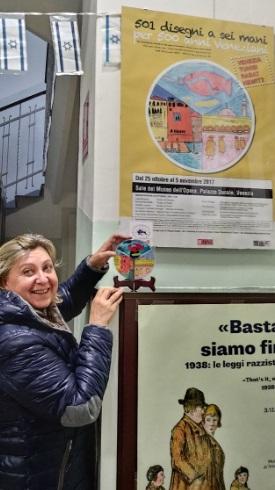 Trieste Scuola Morpurgo -Nadia De Lazzari -Progetto Ponte Educativo Mediterraneo di Venezia Pesce di Pace.jpg