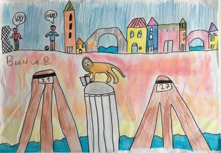 00 scuola primaria zambelli venezia pesce di pace mappa ponte educativo mediterraneo - CLASSE QUARTA DISEGNI
