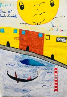 01 scuola primaria zambelli venezia pesce di pace mappa ponte educativo mediterraneo - CLASSE QUARTA DISEGNI