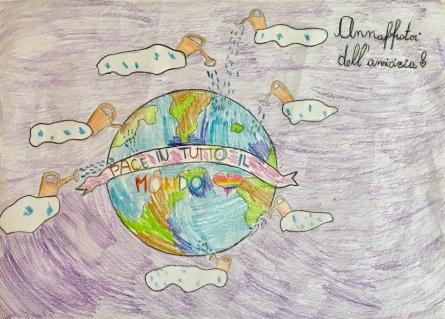 01 scuola primaria zambelli venezia pesce di pace mappa ponte educativo mediterraneo - CLASSE TERZA DISEGNI