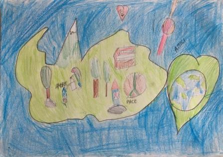 011 scuola primaria zambelli venezia pesce di pace mappa ponte educativo mediterraneo - CLASSE TERZA DISEGNI