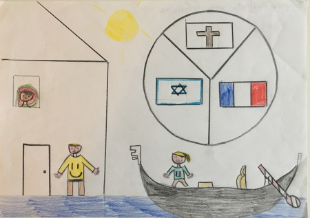 012 classe 5A Scuola Giacinto Gallina - Ponte Educativo Mediterraneo Venezia Pesce di Pace