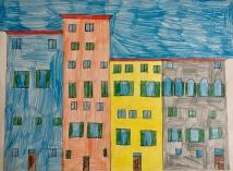 013 classe 5A Scuola Giacinto Gallina - Ponte Educativo Mediterraneo Venezia Pesce di Pace