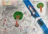 013 scuola primaria zambelli venezia pesce di pace mappa ponte educativo mediterraneo - CLASSE QUARTA DISEGNI