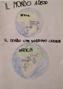 014 TESSERA Venezia Scuola Collodi Progetto Ponte Educativo Mediterraneo pesce di pace