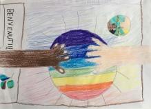 015 scuola primaria zambelli venezia pesce di pace mappa ponte educativo mediterraneo - CLASSE TERZA DISEGNI
