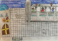 016 classe 5A Scuola Giacinto Gallina - Ponte Educativo Mediterraneo Venezia Pesce di Pace