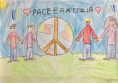016 scuola primaria zambelli venezia pesce di pace mappa ponte educativo mediterraneo - CLASSE TERZA DISEGNI