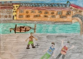 018 classe 5A Scuola Giacinto Gallina - Ponte Educativo Mediterraneo Venezia Pesce di Pace