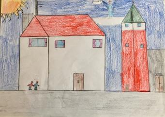 019 scuola primaria zambelli venezia pesce di pace mappa ponte educativo mediterraneo - CLASSE TERZA DISEGNI