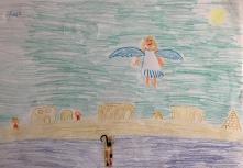 019 Venezia Istituto Cavanis padri Dorsoduro scuola disegni Progetto Ponte Educativo Mediterraneo pesce di pace - classe quinta