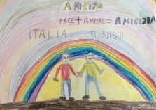 02 scuola primaria zambelli venezia pesce di pace mappa ponte educativo mediterraneo - CLASSE TERZA DISEGNI