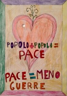 02 TESSERA Venezia Scuola Collodi Progetto Ponte Educativo Mediterraneo pesce di pace
