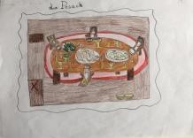 02 Venezia Istituto Cavanis padri Dorsoduro scuola disegni Progetto Ponte Educativo Mediterraneo pesce di pace - classe quinta