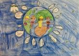 021 classe 5A Scuola Giacinto Gallina - Ponte Educativo Mediterraneo Venezia Pesce di Pace