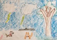 022 scuola primaria zambelli venezia pesce di pace mappa ponte educativo mediterraneo - CLASSE SECONDA DISEGNI