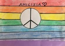 023 scuola primaria zambelli venezia pesce di pace mappa ponte educativo mediterraneo - CLASSE TERZA DISEGNI