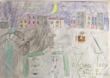 03 scuola primaria zambelli venezia pesce di pace mappa ponte educativo mediterraneo - CLASSE QUARTA DISEGNI