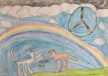 03 scuola primaria zambelli venezia pesce di pace mappa ponte educativo mediterraneo - CLASSE TERZA DISEGNI
