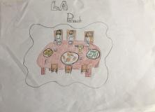 04 Venezia Istituto Cavanis padri Dorsoduro scuola disegni Progetto Ponte Educativo Mediterraneo pesce di pace - classe quinta