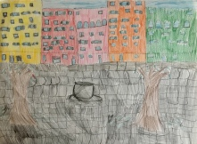 05 classe 5A Scuola Giacinto Gallina - Ponte Educativo Mediterraneo Venezia Pesce di Pace