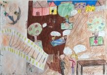 05 scuola primaria zambelli venezia pesce di pace mappa ponte educativo mediterraneo - CLASSE QUARTA DISEGNI