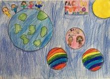 05 scuola primaria zambelli venezia pesce di pace mappa ponte educativo mediterraneo - CLASSE TERZA DISEGNI