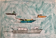 06 scuola primaria zambelli venezia pesce di pace mappa ponte educativo mediterraneo - CLASSE QUARTA DISEGNI