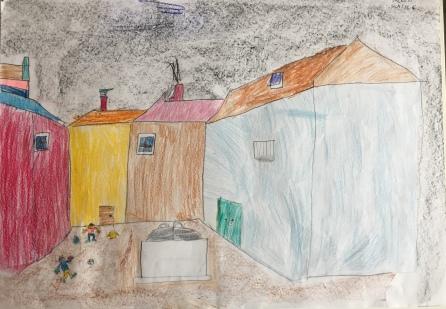 07 scuola primaria zambelli venezia pesce di pace mappa ponte educativo mediterraneo - CLASSE QUARTA DISEGNI