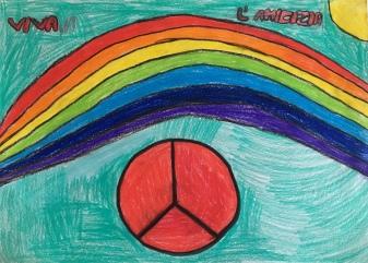 07 scuola primaria zambelli venezia pesce di pace mappa ponte educativo mediterraneo - CLASSE TERZA DISEGNI