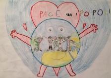 07 TESSERA Venezia Scuola Collodi Progetto Ponte Educativo Mediterraneo pesce di pace