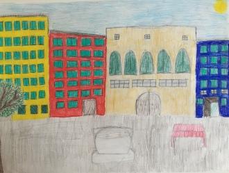08 classe 5A Scuola Giacinto Gallina - Ponte Educativo Mediterraneo Venezia Pesce di Pace