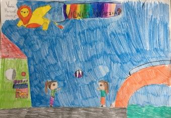 09 scuola primaria zambelli venezia pesce di pace mappa ponte educativo mediterraneo - CLASSE QUARTA DISEGNI