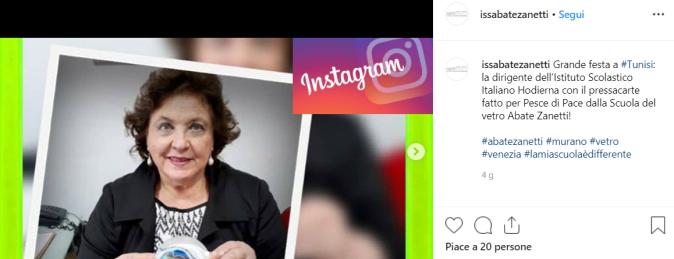 abate zanetti instagram - Ponte Educativo Mediterraneo - Istituto Scolastico Italiano Hodierna